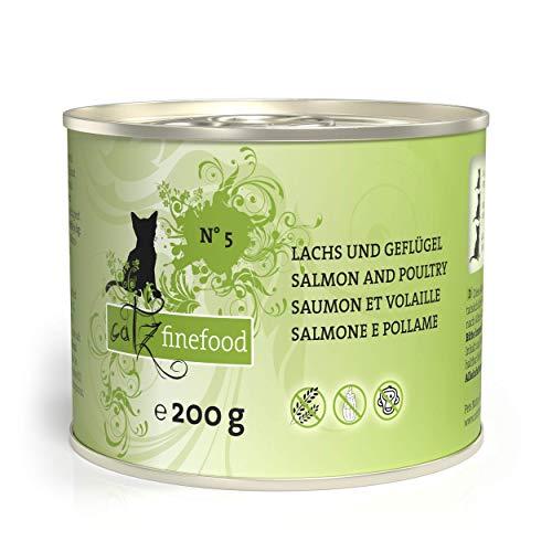 Catz finefood N° 5 Lachs und Geflügel