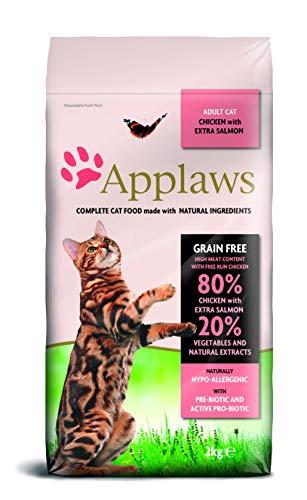 Applaws Katze Trockenfutter mit Hühnchen & Lachs