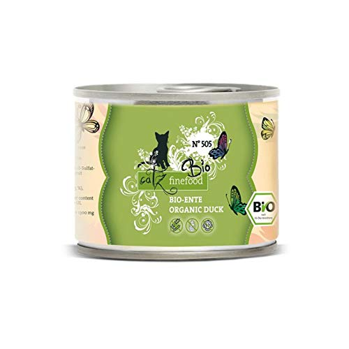 Pets Nature Catz finefood Bio No. 505 Ente