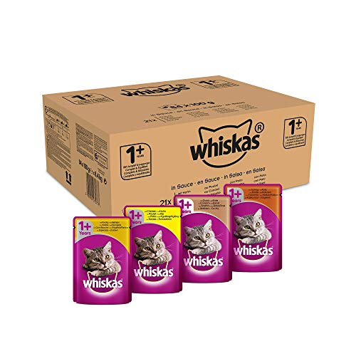 Whiskas Katzenfutter Nassfutter in Sauce